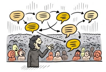 The lost art of speaking out loud!